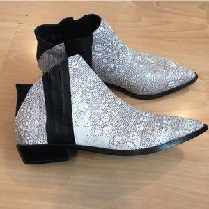 L.A.M.B. Ankle boots